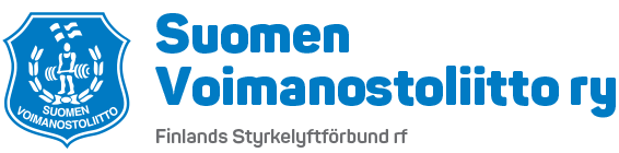 Logo: Suomen voimannostoliitto